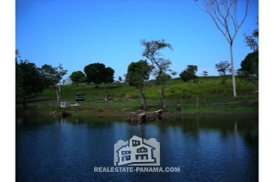 Gatun Lake Front Property with Storage Area - $110,000