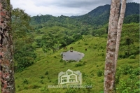 Costa Arriba Horse Farm with Small Caribbean Ocean View - $120,000